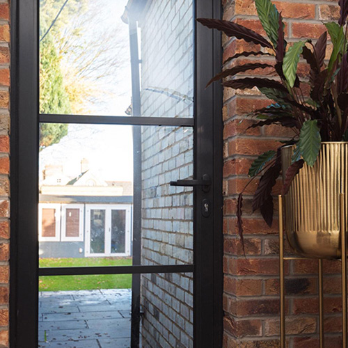 Single & French Aluminium Doors
